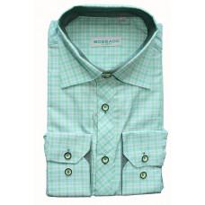 Рубашка Bossado зеленая в клетку BTG 547