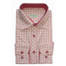 Классическая красная рубашка Bossado в клетку BTG 548