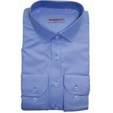 Сорочка мужская голубого цвета Bossado BTT 2644 SF