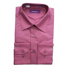 Сорочка мужская CARAT сиреневая QS-8