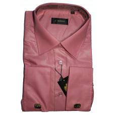 Сорочка мужская розовая под запонки ENRIKO TP2509D