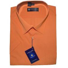 Оранжевая рубашка с коротким рукавом Fortunato DS0507s