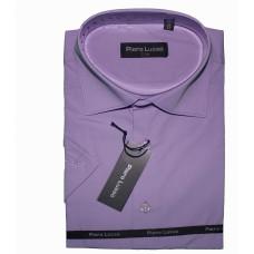 Классическая мужская сорочка сиреневого цвета Piero Lusso CLASSIK 1103