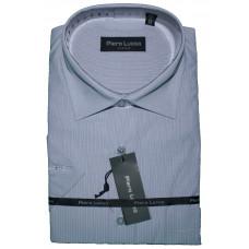 Сорочка мужская голубого цвета в полоску  Piero Lusso CLASSIC 8637