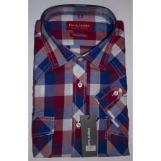 Рубашка мужская с коротким рукавом Piero Lusso BT01SF