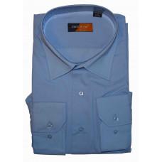 Рубашка голубая с длинным рукавом Greenwood XA23