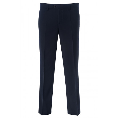 Мужские классические брюки синего цвета Stenser 3138