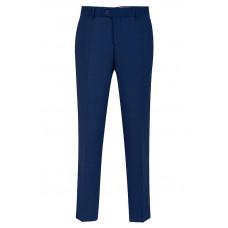 Мужские классические брюки синего цвета Б3151