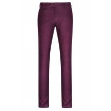 Хлопковые мужские брюки брюки бордового цвета.