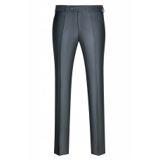 Мужские классические брюки серого цвета. Б46ра