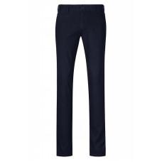 Темно-синие мужские хлопковые брюки