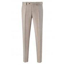 Светло-бежевые летние классические мужские брюки 951