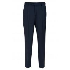 Классические мужские брюки синего цвета Б952