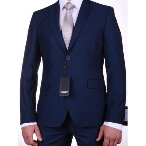 Мужской классический темно-синий костюм «Ягуар»