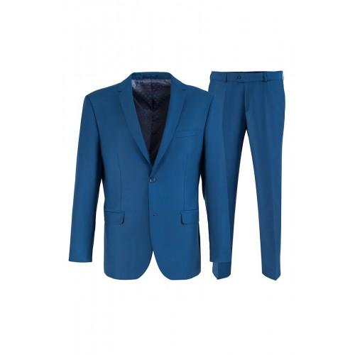 Мужской костюм ярко-синего цвета Stenser 5146