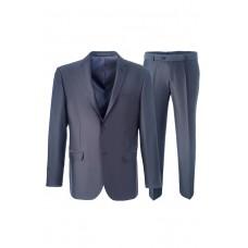 Мужской классический деловой костюм серого цвета Stenser 5151