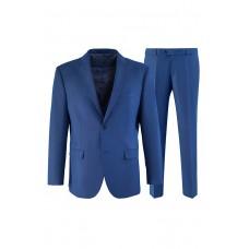Мужской костюм синего цвета К 5156