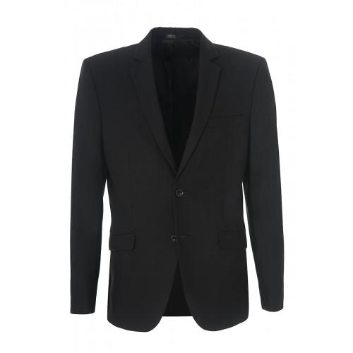 Мужской  черный костюм  Stenser 5198