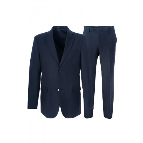 Мужской костюм синего цвета Stenser 5229