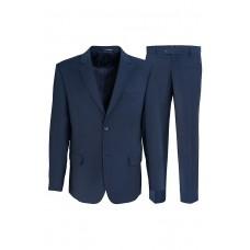 Мужской костюм синего цвета К735