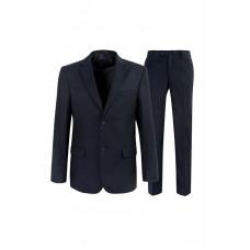 Мужской классический деловой костюм серого цвета Stenser К738