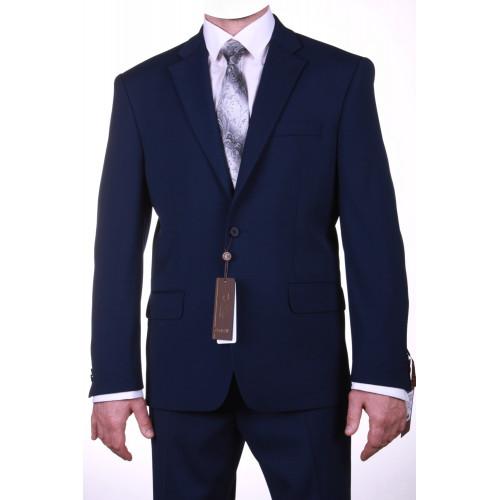 """Классический мужской деловой костюм синего цвета """"Мирах"""""""