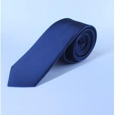 Галстук синего цвета 0006