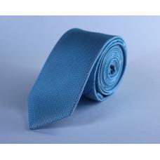 Галстук голубого цвета 0010