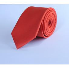 Галстук красного цвета 0015