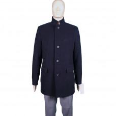 Пальто мужское темно-синего цвета 231