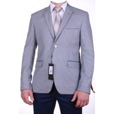 Светлый мужской пиджак с налокотниками 21543 Galant