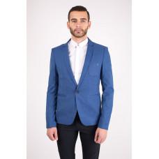 Пиджак мужской синего цвета летний