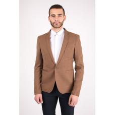 Пиджак мужской коричневого цвета