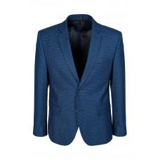 Мужской классический пиджак синего цвета 5523