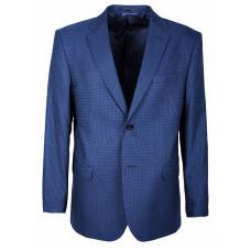 Мужской пиджак синего цвета